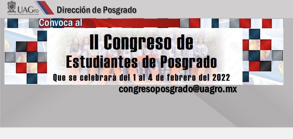 CONVOCATORIA II CONGRESO 2022